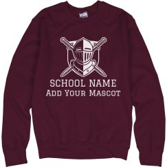 Custom School & Mascot Sweater