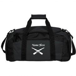 Custom Name Color Guard Rifles Gear Bag