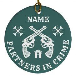 Best Friend Gifts Matching Ornament