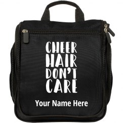 Cheer Hair Don't Care Travel Hair and Makeup Bag