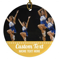 Custom Cheer Photo Design