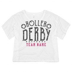Personalized Roller Derby Crop