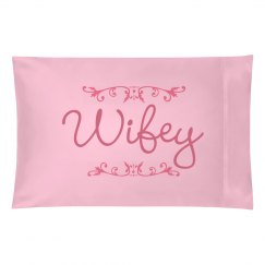 Matching Wifey Pillow