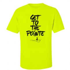 Neon Get to the pointe tee
