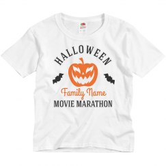 Custom Family Halloween Movie Marathon