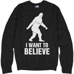 I Want to Believe Sasquatch