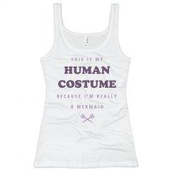 Human Mermaid Costume