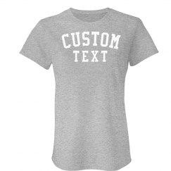 Custom Comfy Cotten Jersey Tee