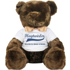 "14"" Flagtwirler Teddy Bear"