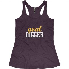 Funny Fitness Goal Digger