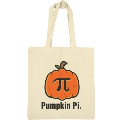 Pumpkin Pi Bag