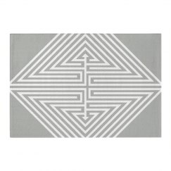 Customizable Geometric Area Rug