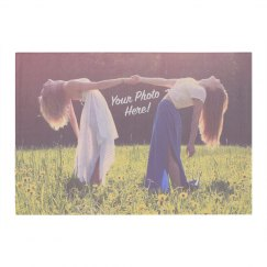 Custom Best Friend Photo Rug
