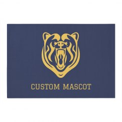 Custom Team Mascot & Text Decor