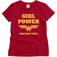 Girl Power Wonder Woman Parody