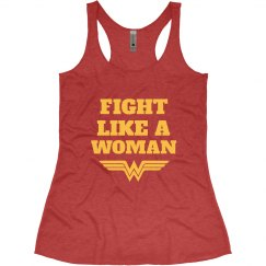 Fight Like Wonder Woman Parody