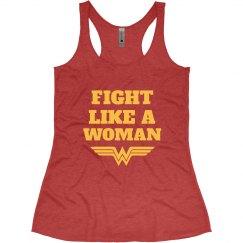 Fight Like Wonder Woman Parody