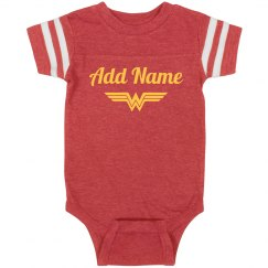 Custom Name Wonder Woman Parody