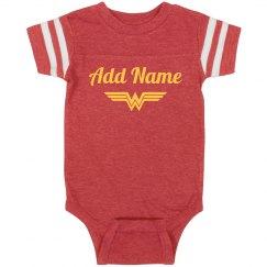 Custom Name Wonder Woman Parody
