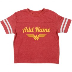 Custom Wonder Woman Name Parody