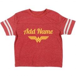 Custom Wonder Woman Name Parody