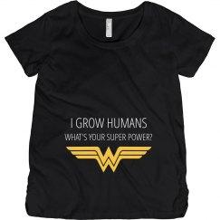 Wonder Woman Maternity Super Power