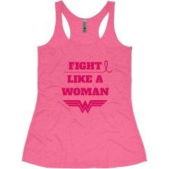 Breast Cancer Fight Like Wonder Woman