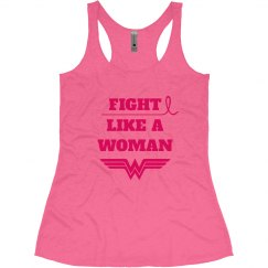 Breast Cancer Fight Like Wonder Woman