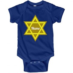 Hanukkah Baby Bodysuit