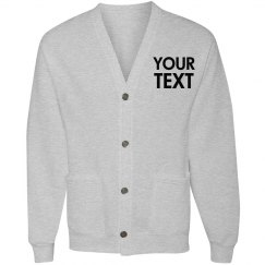 Personalized Cardigan Sweatshirt