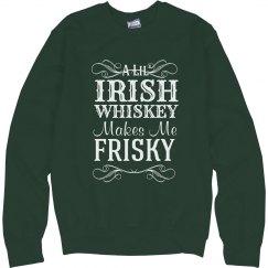 Whiskey Frisky St Patrick