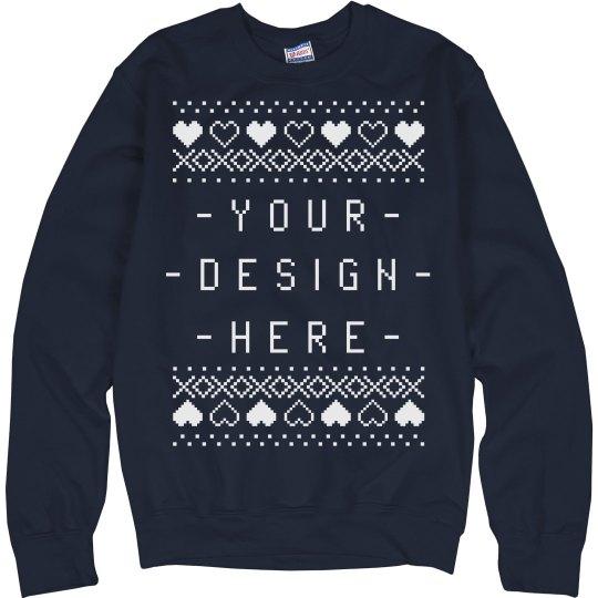 custom christmas sweater design - Custom Christmas Sweater