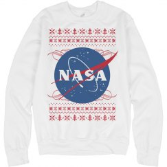 NASA Logo Christmas Sweater