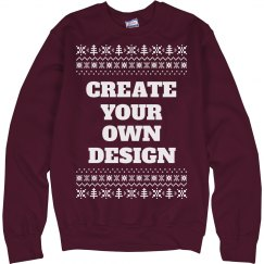 Create Custom Christmas Sweaters