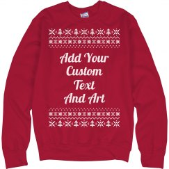 Customizable Ugly Christmas Sweater
