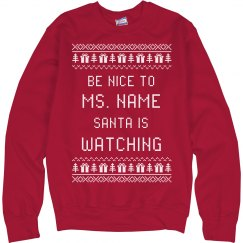 Funny Teacher Ugly Xmas Sweater