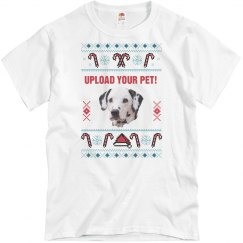 Your Pet Photo Ugly Sweater T-Shirt