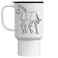 Horse lover's mug