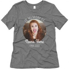 Design Your Own Memorial Tee