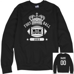 Football Mom Queen Sweater