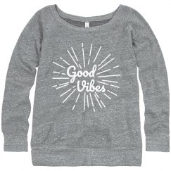 Good Vibes Spring Sweatshirt
