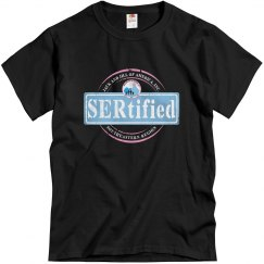 Black SERtified Tee