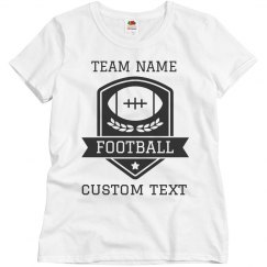 Custom Football Team Tees