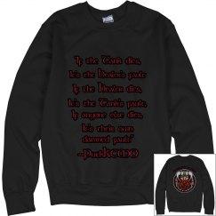 MMO Rules Sweatshirt (NO HOOD)