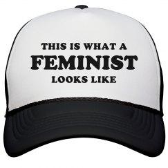 What A Feminist Looks Like Cap