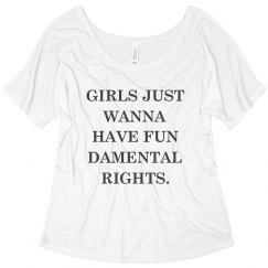 Girls Just Wanna Have Fundamentals