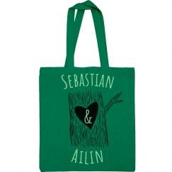 Sebastian & Ailin Heart Tree Bag