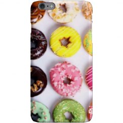 Color donut phone case.