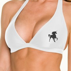 Unicorn Halter Top (White)