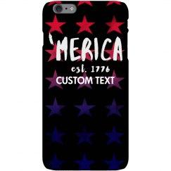 'Merica the Brave Custom iPhone Case
